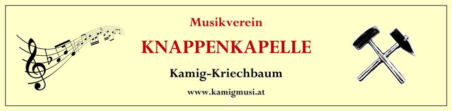 Musikverein Knappenkapelle Kamig-Kriechbaum  - copyright by Werbeagentur www.hassijun.com